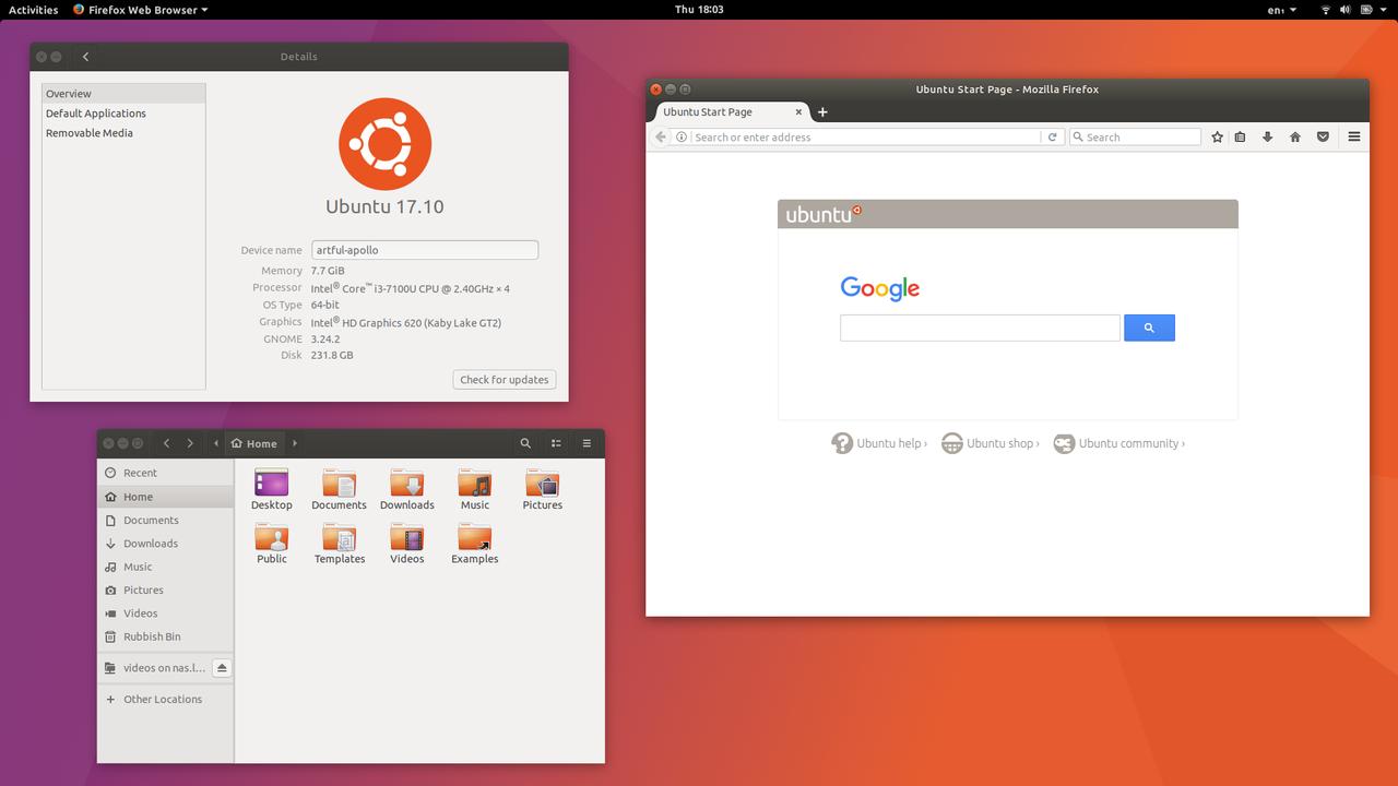 Ubuntu Artful Desktop