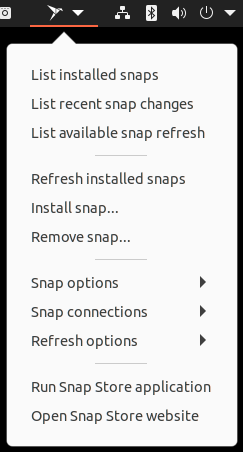 Snap Manager Extension